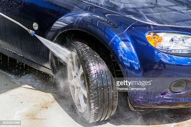 Lavado del automóvil
