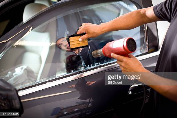 car window tinting - toned image stock pictures, royalty-free photos & images