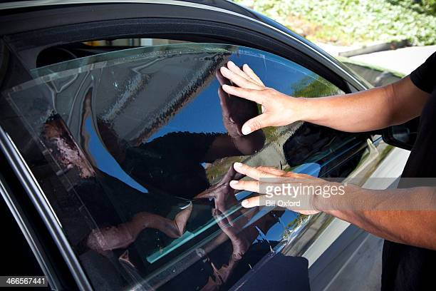 Auto Fenster Färben