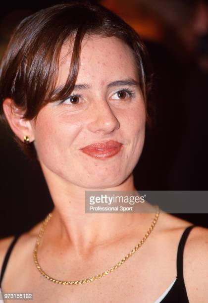Cara Black of Zimbabwe attends the ITF World Champions Dinner during the French Open at Roland Garros circa July, 1998 in Paris, France.