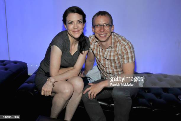 Cara Buckley and Carl Swanson attend PATTI SMITH Live in Concert A Benefit for The American Folk Art Museum at Espace on May 15 2010 in New York City