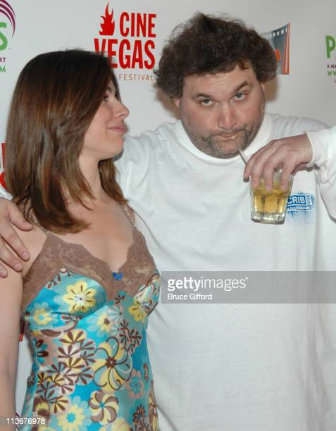 Cara Buono and Artie Lange during 2006 CineVegas Film Festival Day 8 Arrivals at Palms Casino Resort in Las Vegas Nevada United States