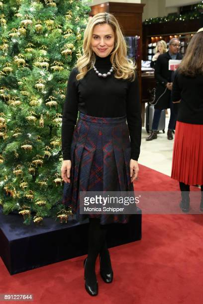 Cara Buono attends as Brooks Brothers celebrates the holidays with St Jude Children's Research Hospital on December 12 2017 in New York City