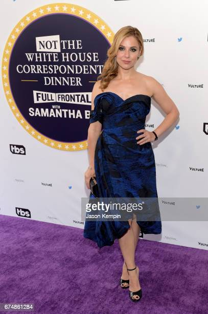 Cara Buono attends Full Frontal With Samantha Bee's Not The White House Correspondents' Dinner at DAR Constitution Hall on April 29 2017 in...