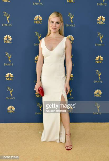 Cara Buono attends the 70th Emmy Awards at Microsoft Theater on September 17 2018 in Los Angeles California