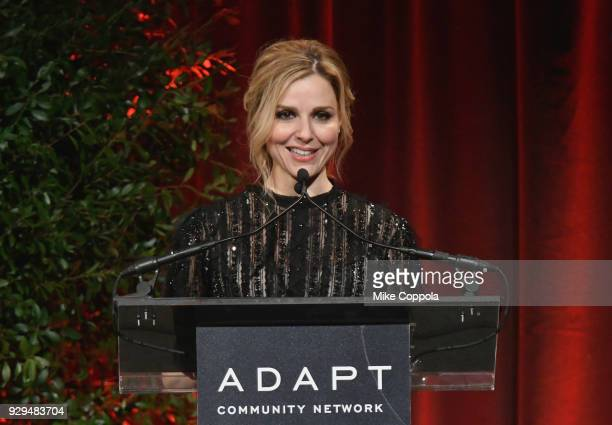 Cara Buono attends the Adapt Leadership Awards Gala 2018 at Cipriani 42nd Street on March 8 2018 in New York City