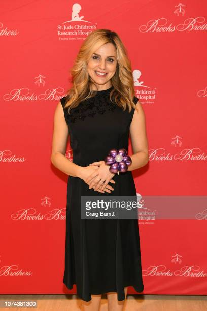 Cara Buono attends the Brooks Brothers And St Jude Children's Research Hospital Annual Holiday Celebration In New York City on December 18 2018 in...