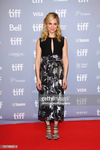 Cara Buono attends the Monsters And Men Premiere during the 2018 Toronto International Film Festival at TIFF Bell Lightbox on September 6 2018 in...