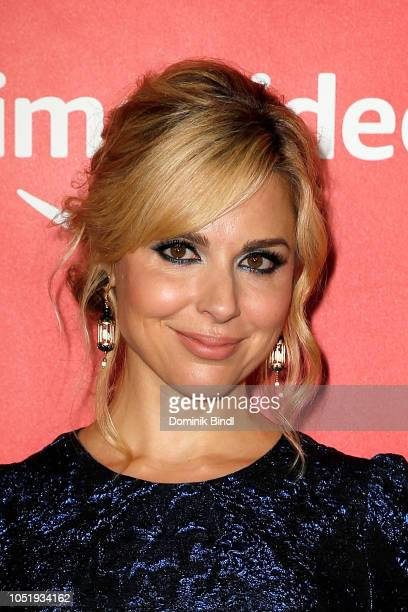 Cara Buono attends the premiere of the Amazon Prime Video web TV series 'The Romanoffs' at the Russian Tea Room on October 11 2018 in New York City