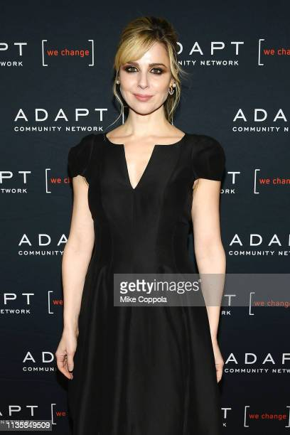 Cara Buono attends the The 2019 2nd Annual ADAPT Leadership Awards at Cipriani 42nd Street on March 14 2019 in New York City