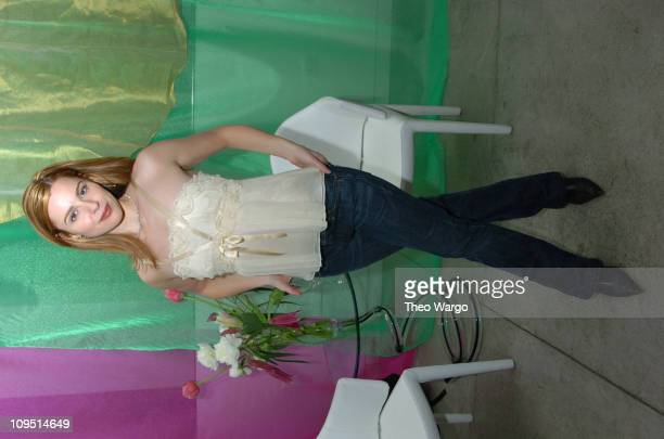 Cara Buono during Designer Sebastian Pons Celebrates Color At Fashions First Party of the Spring Hosted by Maurice Villency at Maurice Villency in...