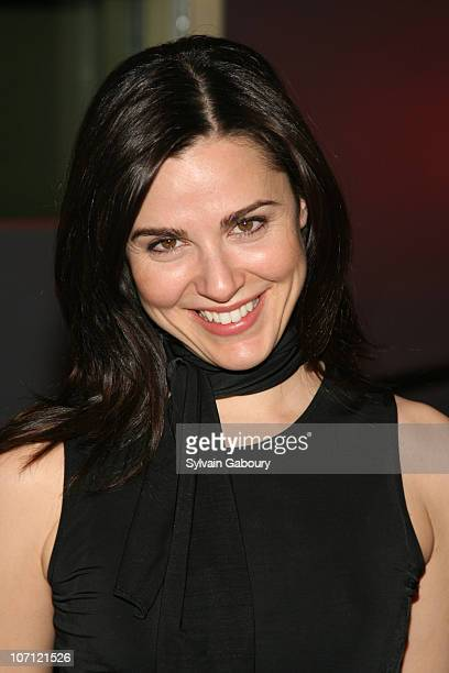 Cara Buono during John Leguizamo Cara Buono and Al Palagonia Judged the Actor Finalists for Live Mansion The Movie March 19 2007 at Pressure Bar at...