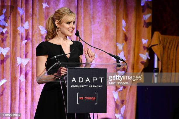 Cara Buono hosts the 2019 2nd Annual ADAPT Leadership Awards at Cipriani 42nd Street on March 14 2019 in New York City