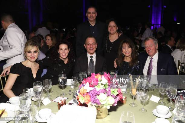Cara Buono Tony Danza and Susan Lucci attend the 2019 2nd Annual ADAPT Leadership Awards at Cipriani 42nd Street on March 14 2019 in New York City