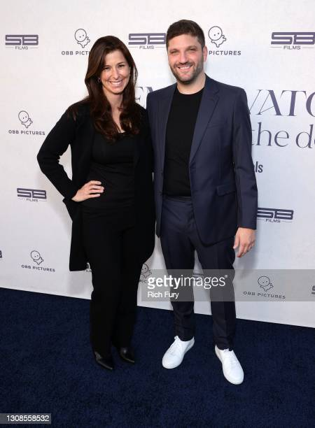 "Cara Casey and Michael D. Ratner, Director/Executive Producer OBB Pictures attend the OBB Premiere Event for YouTube Originals Docuseries ""Demi..."