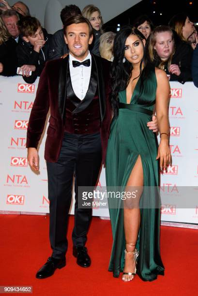 Cara De La Hoyde attends the National Television Awards 2018 at The O2 Arena on January 23 2018 in London England