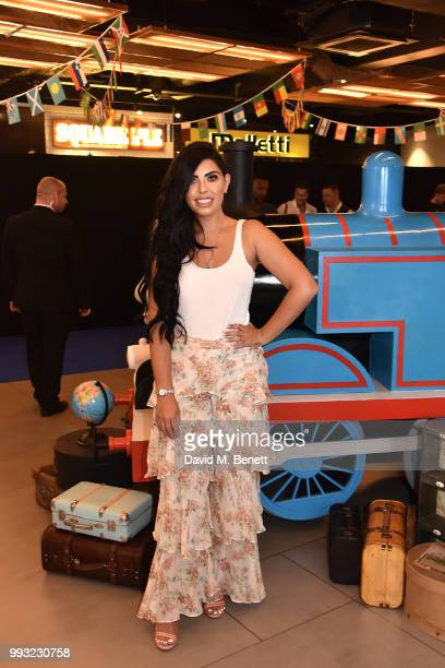 Cara De La Hoyde attends the premiere of Thomas and Friends Big World Big Adventures at Vue West End on July 7 2018 in London England