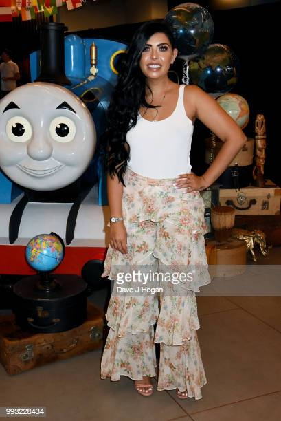 Cara De La Hoyde attends the UK premiere of 'Thomas The Tank Engine Big World Big Adventures The Movie' at Vue West End on July 7 2018 in London...