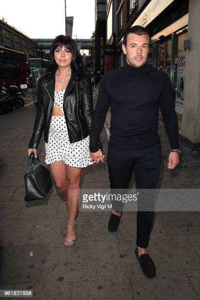 Cara De La Hoyde seen attending Gemma Collins x Bohoo party at Tonight Josephine on May 23 2018 in London England