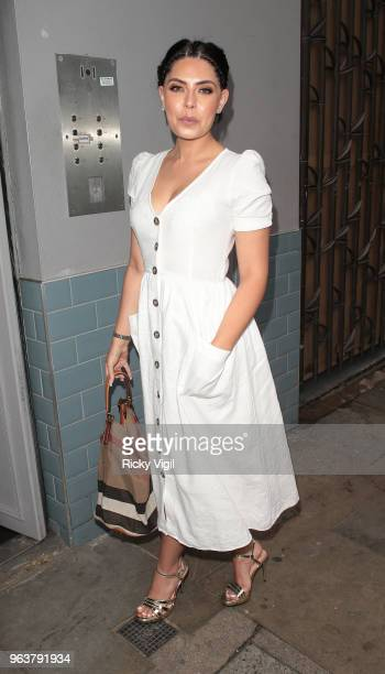 Cara De La Hoyde seen attending Mother of Maniacs #MumBoss press launch party at Beaufort House Chelsea on May 30 2018 in London England