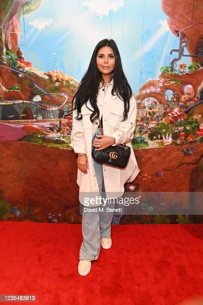 """Cara De La Hoyde-Massey attends the red carpet premiere of new animated children's series """"Moley"""" at Odeon Luxe Leicester Square on September 25,..."""