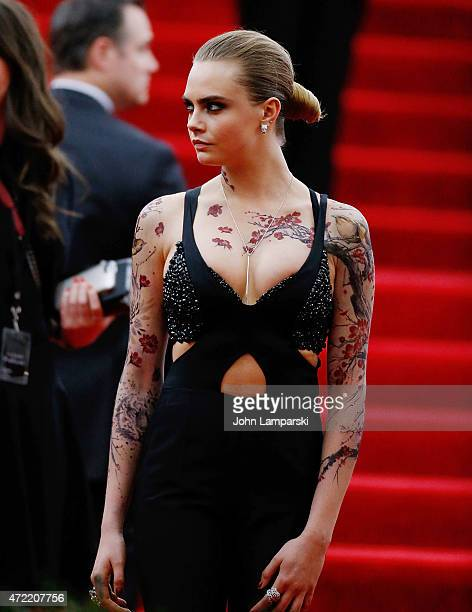 Cara Delevigne attends 'China Through The Looking Glass' Costume Institute Benefit Gala at Metropolitan Museum of Art on May 4 2015 in New York City
