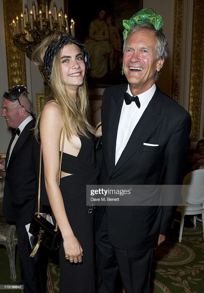 Cara Delevingne and Charles Delevingne attend The Elephant Family presents 'The Animal Ball' at Lancaster House on July 9, 2013 in London, England.