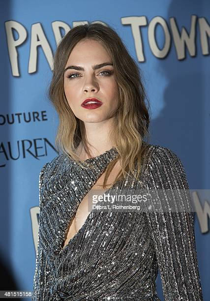 Cara Delevingne at the New York Premiere of Paper Towns at AMC Loews Lincoln Square on July 21 2015 in New York City