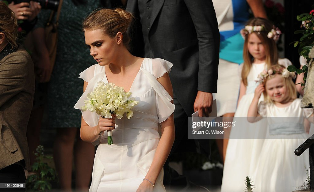 The Wedding Of Poppy Delevingne And James Cook : News Photo