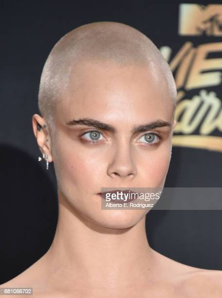 Cara Delevingne attends the 2017 MTV Movie And TV Awards at The Shrine Auditorium on May 7 2017 in Los Angeles California
