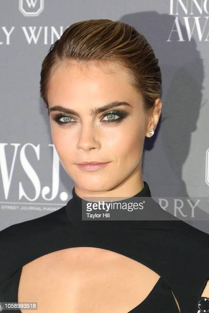 Cara Delevingne attends the 2018 WSJ Magazine Innovator Awards at Museum of Modern Art on November 7 2018 in New York City