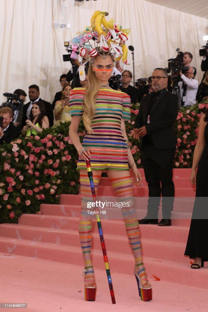 The 2019 Met Gala Celebrating Camp: Notes On Fashion : News Photo