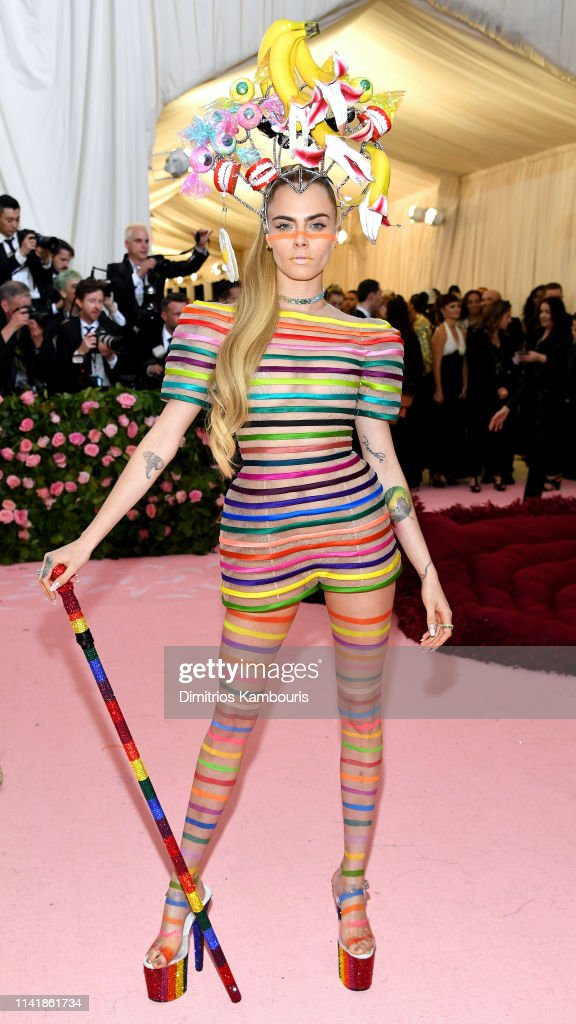 The 2019 Met Gala Celebrating Camp: Notes on Fashion - Social Ready : News Photo