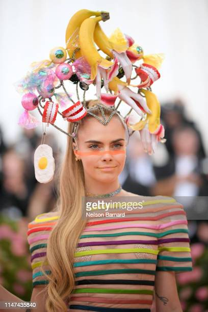 Cara Delevingne attends The 2019 Met Gala Celebrating Camp Notes on Fashion at Metropolitan Museum of Art on May 06 2019 in New York City