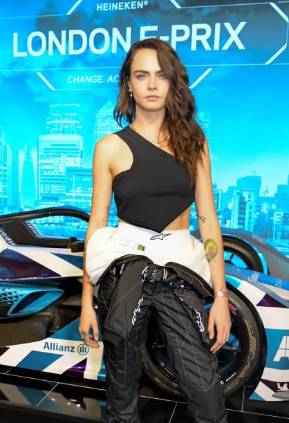GBR: Celebrities Attend The ABB FIA Formula E Heineken London E-Prix