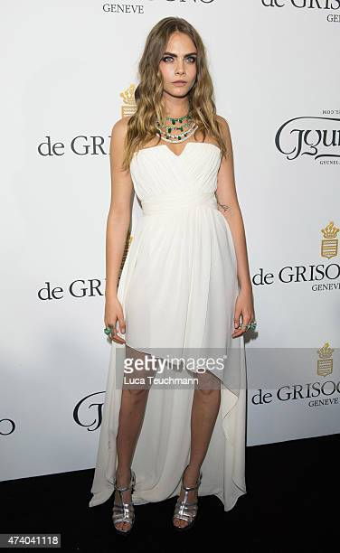76341ec7163 Cara Delevingne attends the De Grisogono Party at the 67th Annual Cannes  Film Festival on May