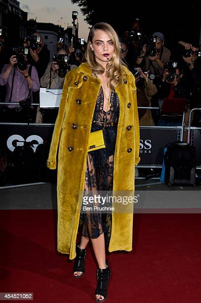 Cara Delevingne attends the GQ men of the year awards at The Royal Opera House on September 2 2014 in London England