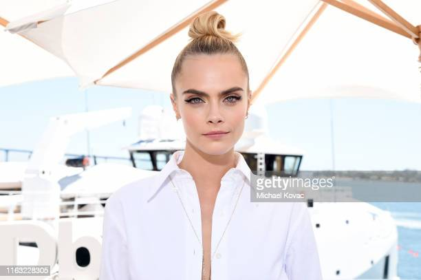 Cara Delevingne attends the #IMDboat at San Diego ComicCon 2019 Day Three at the IMDb Yacht on July 20 2019 in San Diego California