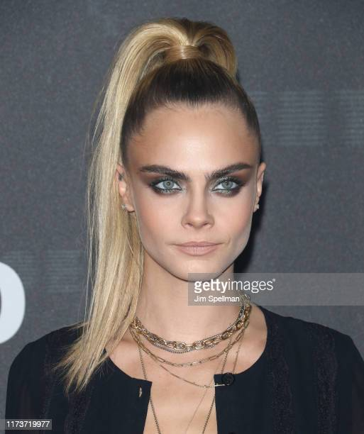 Cara Delevingne attends the Savage x Fenty arrivals during New York Fashion Week at Barclays Center on September 10 2019 in New York City