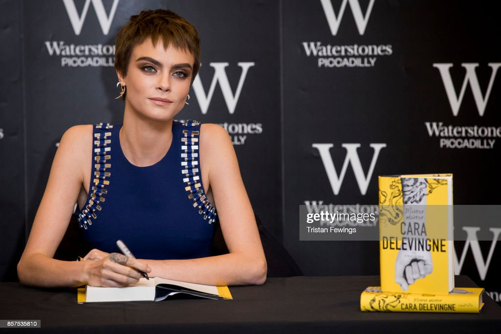 Cara Delevingne Book Signing : News Photo