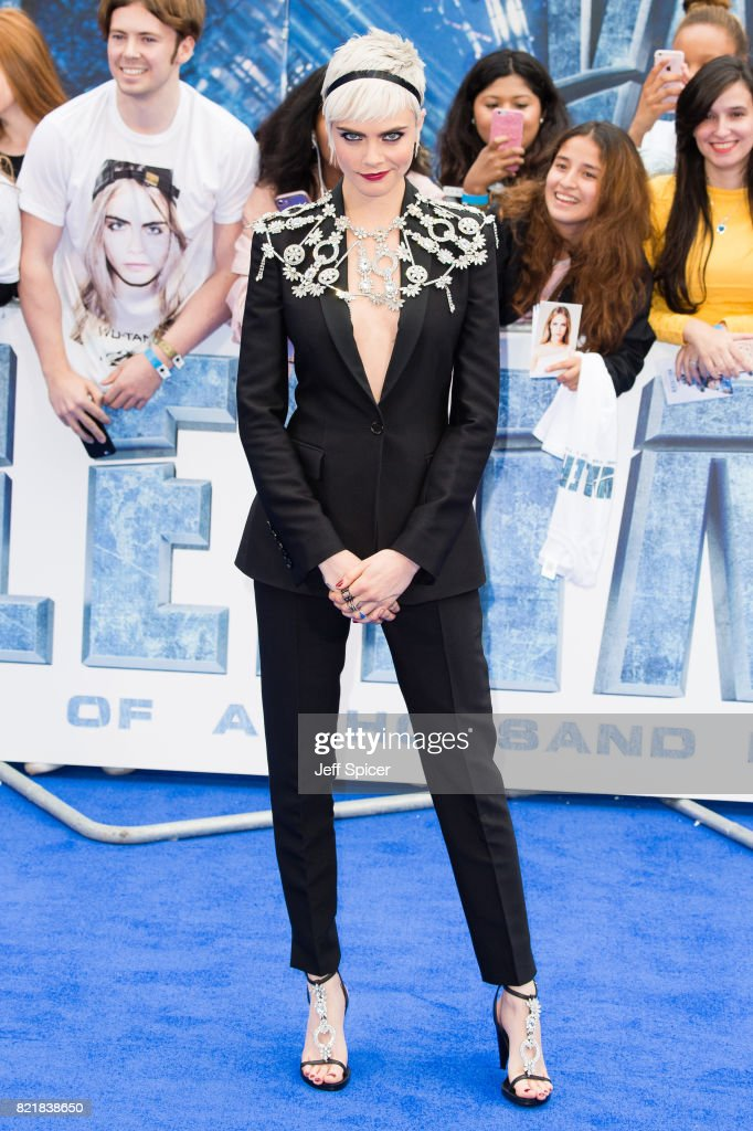 cara delevingne attends the 39 valerian and the city of a thousand nachrichtenfoto getty images. Black Bedroom Furniture Sets. Home Design Ideas