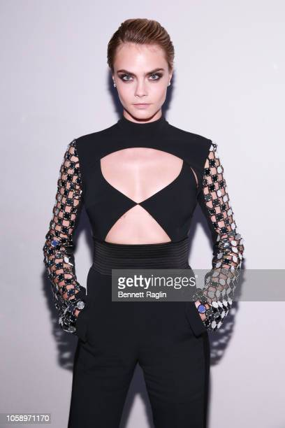 Cara Delevingne attends WSJ Magazine 2018 Innovator Awards Sponsored By Harry Winston FlexJet Barneys New York Arrivals at MOMA on November 7 2018 in...