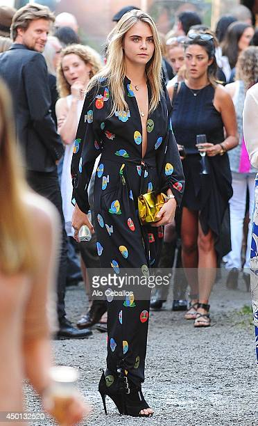 Cara Delevingne is seen in Soho on June 5 2014 in New York City