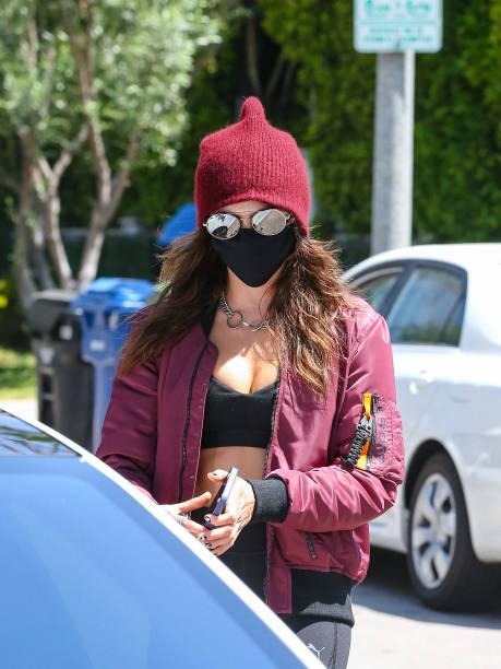 CA: Celebrity Sightings In Los Angeles - May 05, 2021