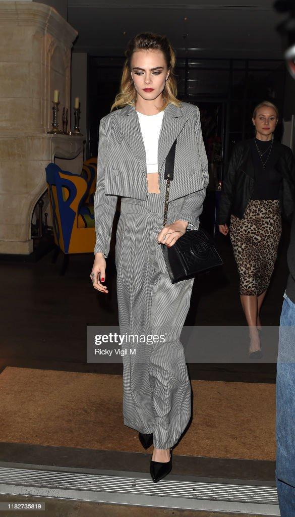 London Celebrity Sightings -  October 22, 2019 : News Photo