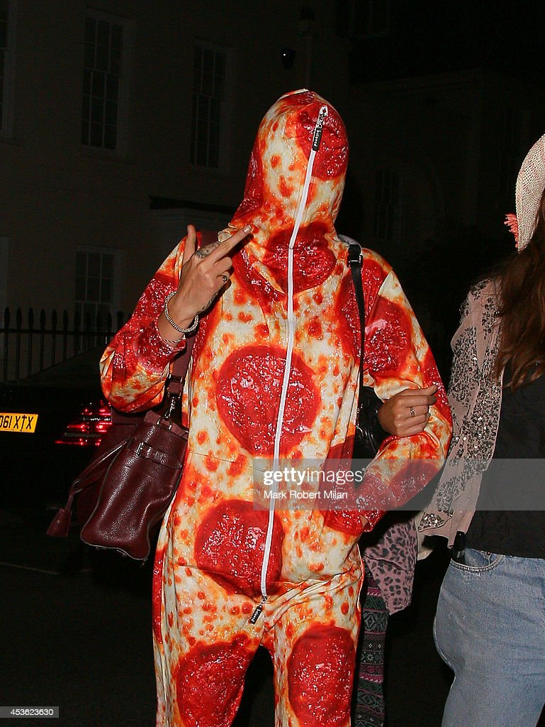 Cara Delevingne sighting on August 14, 2014 in London, England.