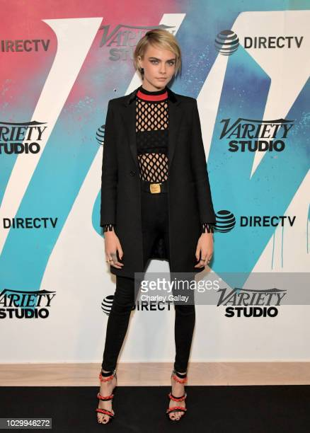 Cara Delevingne stops by DIRECTV House presented by ATT during Toronto International Film Festival 2018 at Momofuku Toronto on on September 9 2018 in...