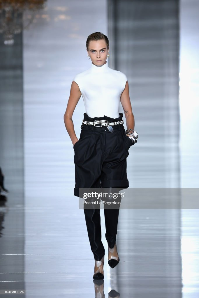 cara-delevingne-walks-the-runway-during-the-balmain-show-as-part-of-picture-id1042361124