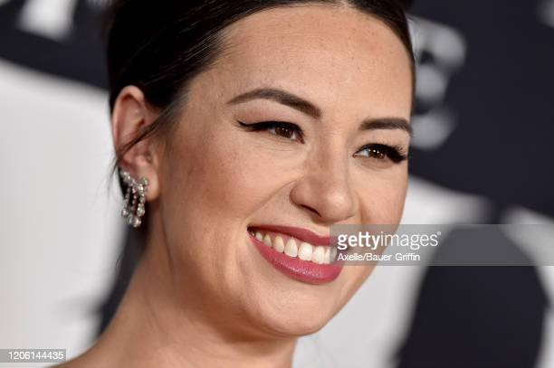 """Cara Gee attends the Premiere of 20th Century Studios' """"The Call of the Wild"""" at El Capitan Theatre on February 13, 2020 in Los Angeles, California."""