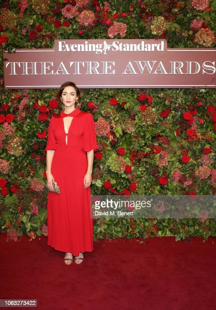 Cara Horgan arrives at The 64th Evening Standard Theatre Awards at the Theatre Royal Drury Lane on November 18 2018 in London England